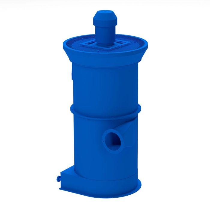 Установки вентиляционные пылеулавливающие УВП; ЗИЛ-900